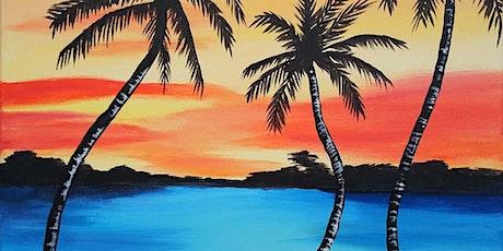 "Paint and Sip - ""Island Sunset"" Estancia La Jolla tickets"