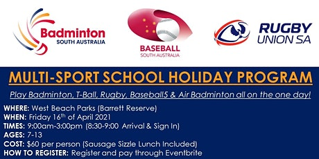 Multi-Sport School Holiday Clinic tickets