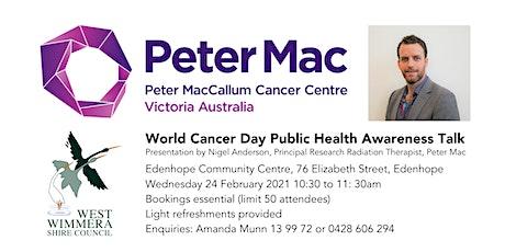 World Cancer Day Public Health Awareness Talk tickets