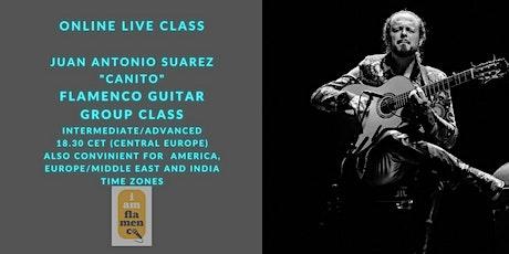 Online / Flamenco Guitar Masterclass / El Canito entradas