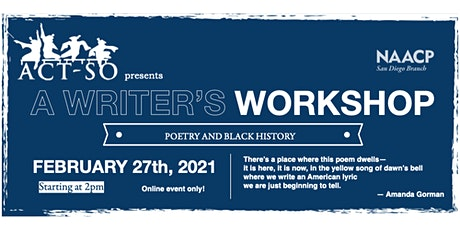 ACT-SO Writer's Workshop: Poetry & Black History tickets