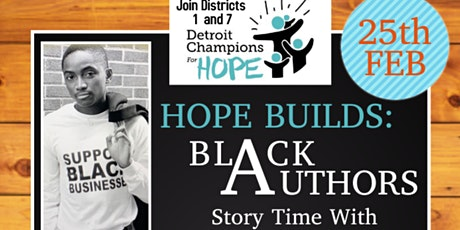 HopeBuilds: Black Authors Story time with a Champion tickets