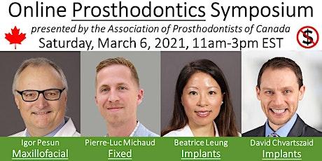 Prosthodontics Symposium tickets