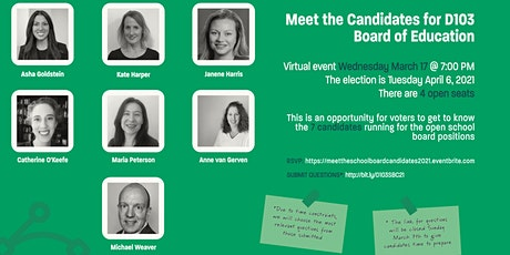 Meet the Candidates for D103 School Board tickets