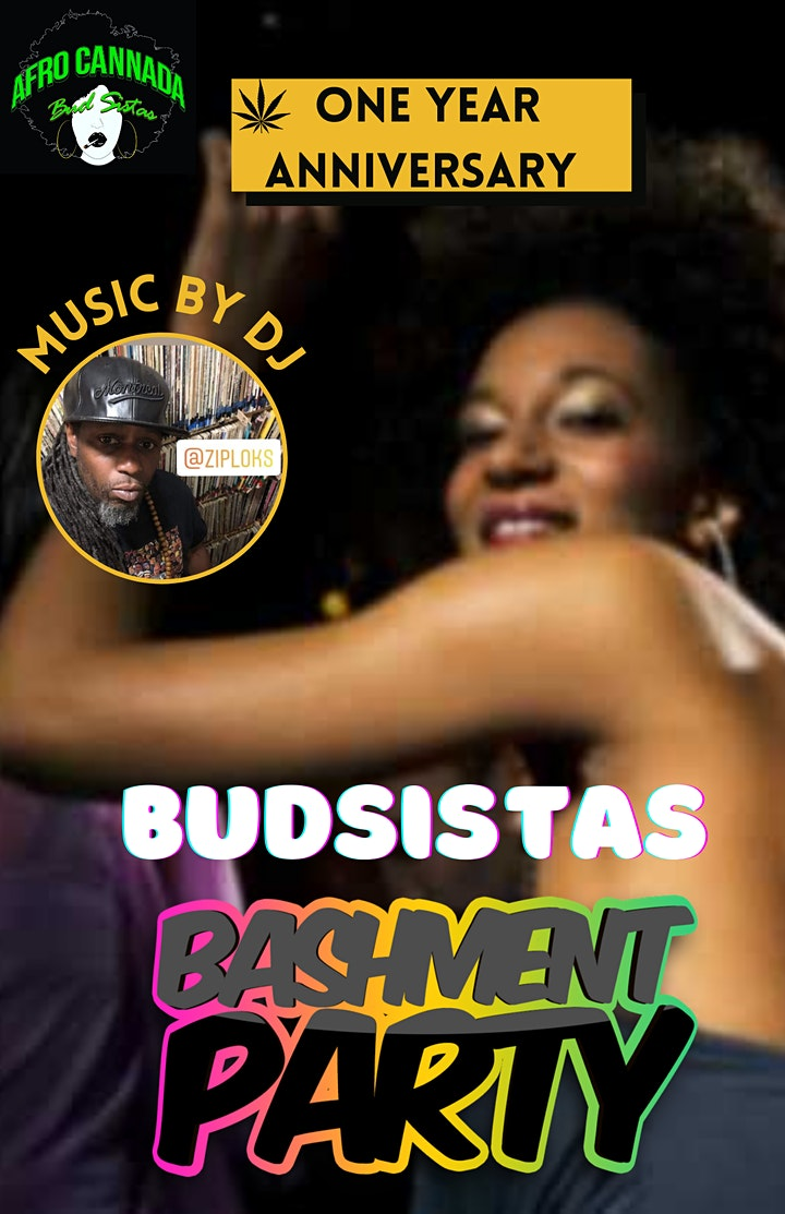 AFRO CANNADA BUDSISTAS BIRTHDAY BASHMENT PARTY image