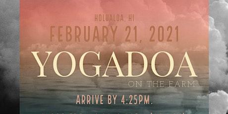 YogaDOA: Unwind x Align tickets