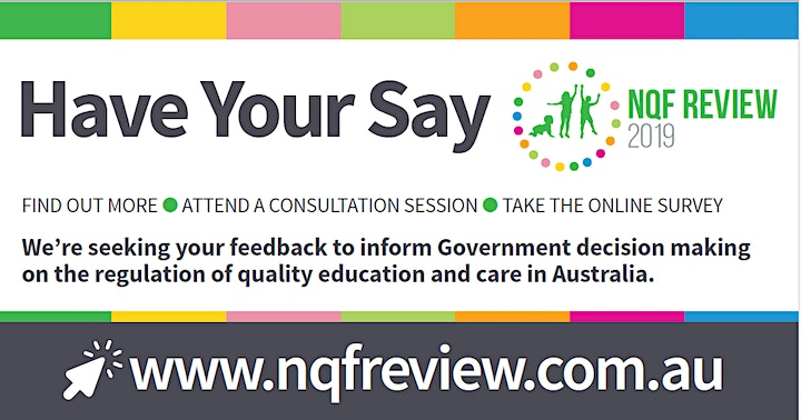 Early Childhood Education 2019 NQF Review - Hobart image