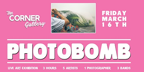 Photobomb - Live Art Exhibition tickets