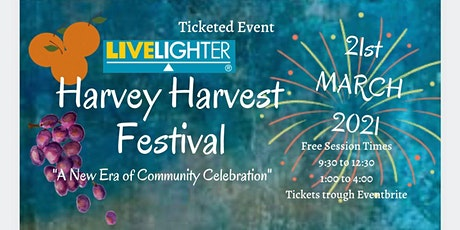 Livelighter Harvey Family Festival 2021 tickets