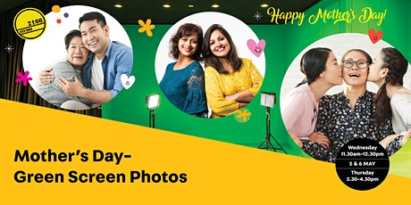Mothers Day Green Screen Photos tickets
