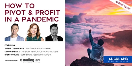 Pivot & Profit In A Pandemic tickets