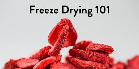 Freeze Drying Basics tickets