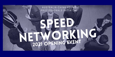 ACYPI Adelaide | Speed Networking - 2021 Opening Event tickets