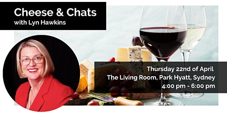 Sydney, BWA: Cheese & Chats with Lyn Hawkins tickets
