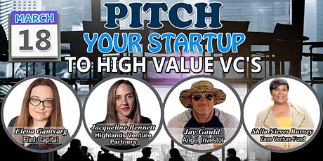 Pitch Your Ideas to Most Sought After VCs tickets