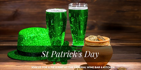 St Patrick's Day at The General Wine Bar tickets