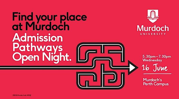 Admission Pathways Open Night image
