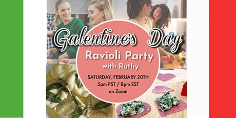 Galentine's Day Ravioli Party with Ruthy tickets