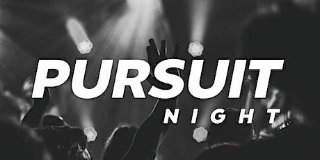 Pursuit Night tickets
