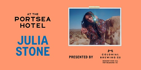 Julia Stone presented by Colonial Brewing Co at Portsea Hotel tickets