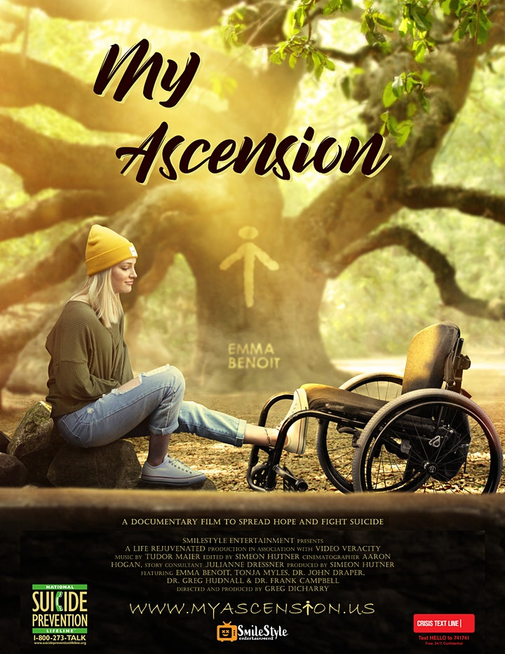 My Ascension - United Spinal  and Brain Injury Association Screening Event image
