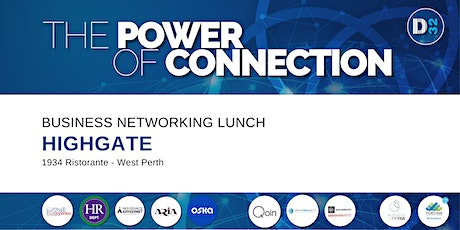 District32 Business Networking Perth – Highgate - Wed 07th Apr tickets
