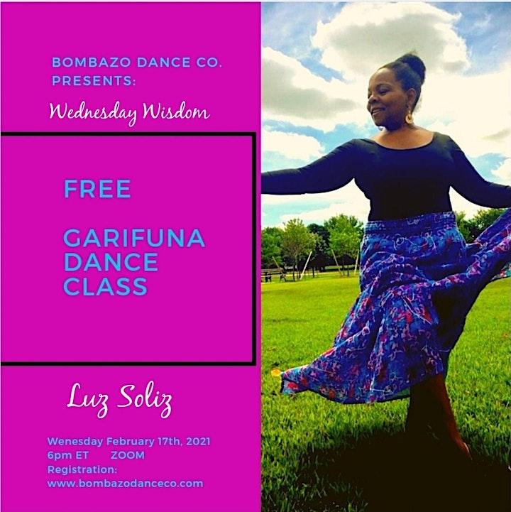 FREE GARIFUNA DANCE CLASS image