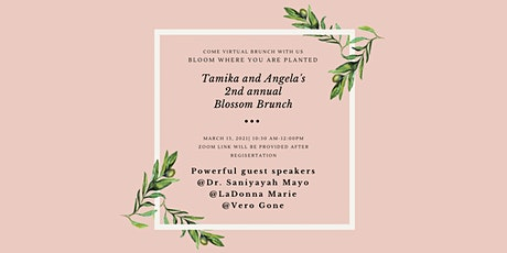 Blossom Brunch Bloom where you are planted tickets