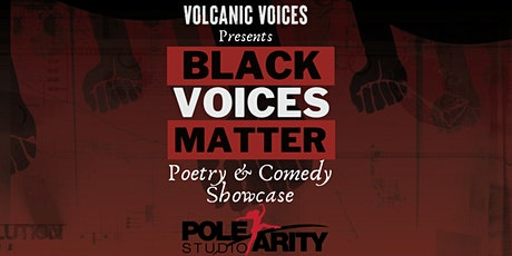 Black Voices Matter: Poetry & Comedy Showcase Featuring Marc Marcel tickets