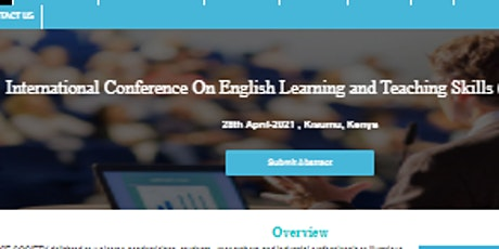 International Conference On English Learning and Teaching Skills (ICELTS-21 tickets
