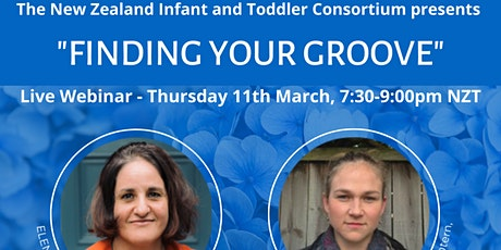 """NZITC Presents """"FINDING YOUR GROOVE"""" - Live Webinar tickets"""