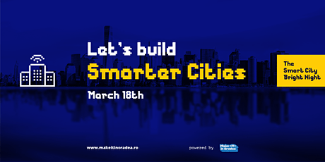 The Smart City Bright Night #6 - smart city idea pitching event tickets