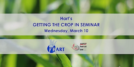 Hart's GETTING THE CROP IN seminar 2021 tickets