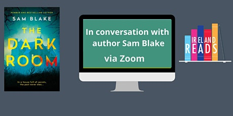 In conversation with author Sam Blake. tickets