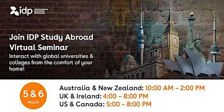 IDP Study Abroad Virtual Seminar in Oman tickets