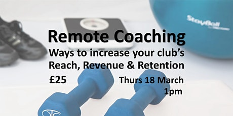 Remote Coaching Memberships tickets