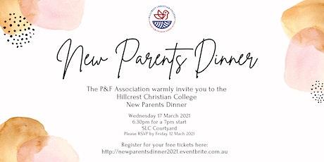 Hillcrest Christian College New Parents Dinner 2021 tickets
