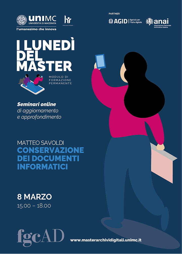 """Immagine """"CONSERVAZIONE DEI DOCUMENTI INFORMATICI"""" – Matteo Savoldi"""