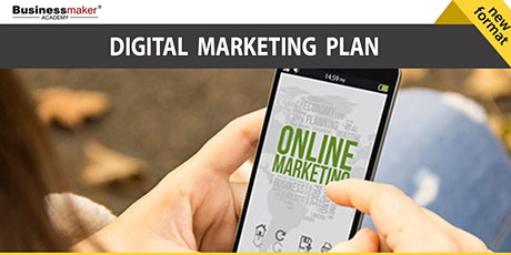 Live Webinar: Digital Marketing Plan tickets