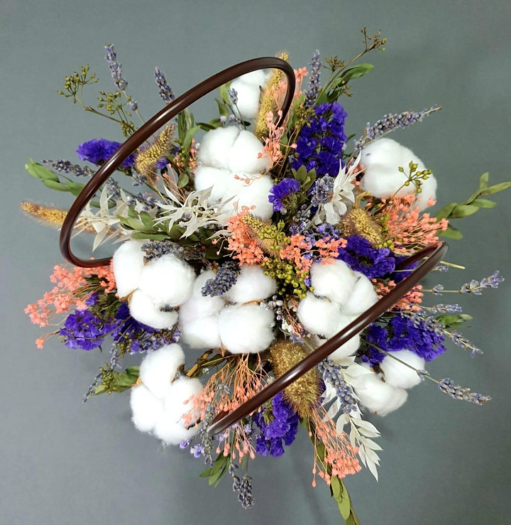 Mothers' Day  Hand Bouquet  Workshop on April 24 image