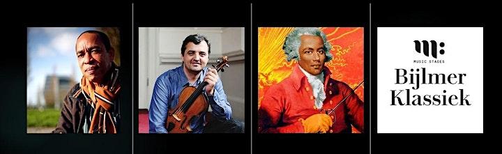 Afbeelding van Bijlmer Klassiek on tour - Livestream | De Zwarte Mozart ft. Vincent Henar