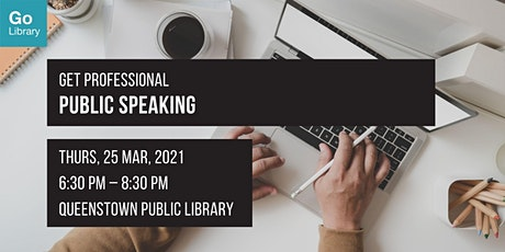 Public Speaking | Get Professional tickets