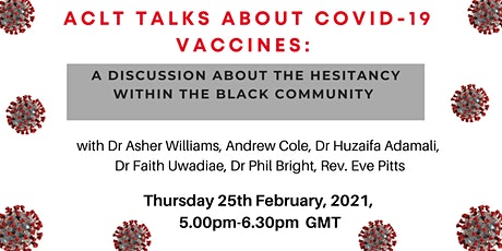 BLACK PEOPLE: LET'S TALK ABOUT COVID-19 VACCINES tickets