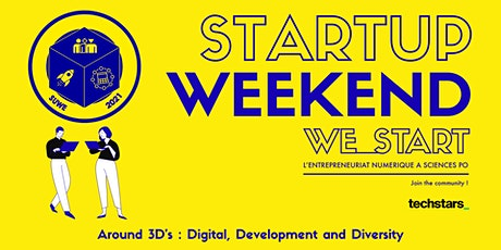Techstars Startup Weekend Online Paris Social Impact and Innovation 04/21 tickets