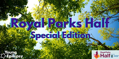 Royal Parks Half Special Edition 2021 for Young Epilepsy tickets
