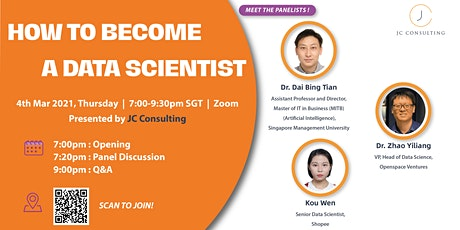 HOW TO BECOME A DATA SCIENTIST tickets