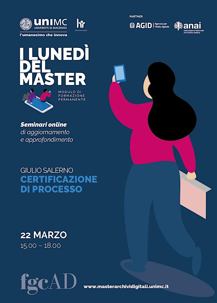 """Immagine """"CERTIFICAZIONE DI PROCESSO"""" – Giulio Salerno"""