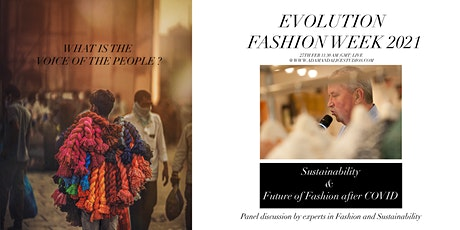 Sustainability and Future of Fashion after COVID (Fashion Evolution 2021) tickets