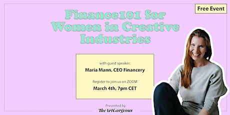 Finance 101 for Women in Creative Industries Tickets
