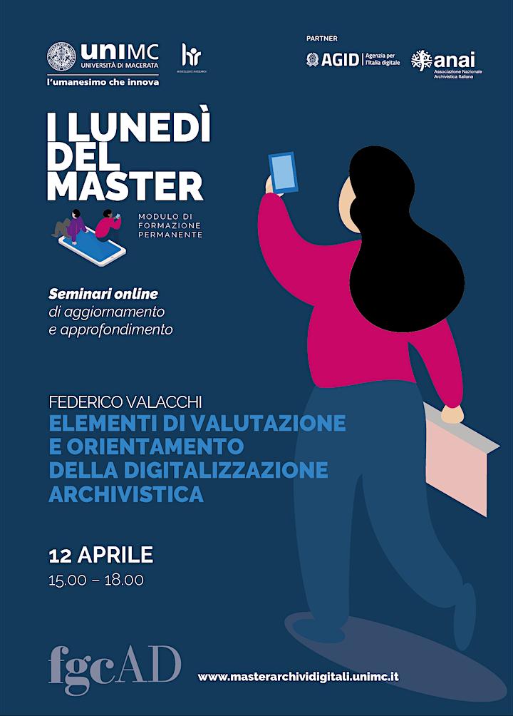 """Immagine """"ELEMENTI DI VALUTAZIONE DELLA DIGITALIZZAZIONE ARCHIVISTICA"""" - F. Valacchi"""